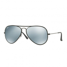 Ray-Ban RB3025JM 002/30 AVIATOR FULL COLOR BLACK LIGHT GREEN MIRROR SILVER napszemüveg