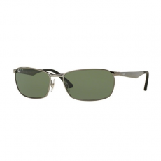 Ray-Ban RB3534 004/58 GUNMETAL POLAR GREEN napszemüveg