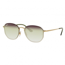 Ray-Ban RB3579N 91400R BLAZE HEXAGONAL DEMI GLOSS GOLD TRI GRAD GREY/GREEN/TRASPARENT napszemüveg
