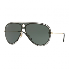 Ray-Ban RB3605N 187/71 TOP SHINY BLACK ON GOLD DARK GREEN  napszemüveg