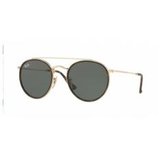 Ray-Ban RB3647N 001 GOLD GREEN napszemüveg