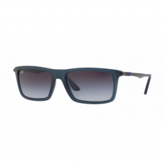 Ray-Ban RB4214 62978G MATTE TRANSPARENT BLUE GREY GRADIENT napszemüveg