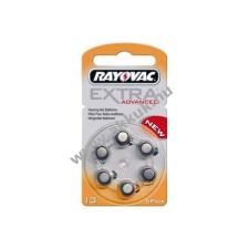 Rayovac Extra Advanced hallókészülék elem típus DA13 6db/csom gombelem