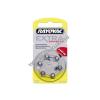 Rayovac Extra Advanced hallókészülék elem típus PR536 6db/csom