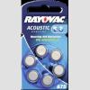 Rayovac HA675 hallókészülék elem