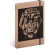 REALSYSTEM Design notesz - Batman v Superman – Battle, lined, 13 x 21 cm