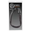 Rebel Double Plug - dupla kúp anál dildó (fekete) 1 db