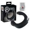 Rebel Rebel - íves prosztata vibrátor (fekete)