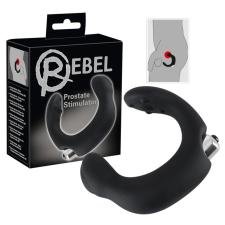 Rebel Rebel - íves prosztata vibrátor (fekete) vibrátorok