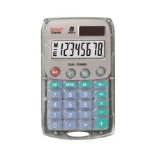 Rebell Zsebszámológép Starlet 8 digit ezüst Rebell számológép