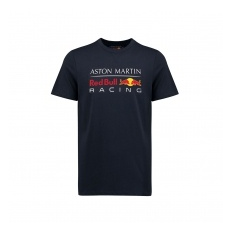 Red Bull Racing F1 Team Red Bull Racing fĂŠrfi póló Large Logo dark blue 2018 - XXL