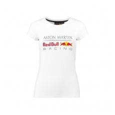 Red Bull Racing F1 Team Red Bull Racing női póló Large Logo white 2018 - L