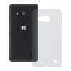 Redneck Microsoft Lumia 550 TPU Flexi hátlap, tok, átlátszó