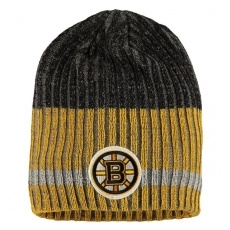 Reebok Boston Bruins tĂŠli sapka Reebok Face-Off Heathered Knit Beanie