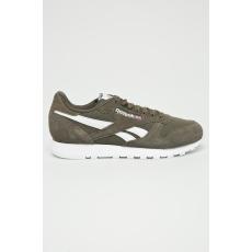 Reebok Classic - Cipő Cl Leather Mu - zöld - 1355294-zöld