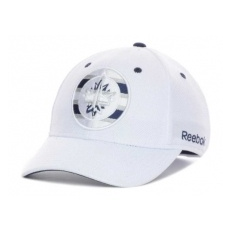 Reebok Winnipeg Jets baseball sapka NHL White Out Flex - S/M