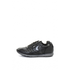Refresh , Műbőr sneakers cipő, Fekete, 44 (64466-BLACK-44)