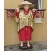 Reklámfigura-170 cm/laminált/Kínai kosarakkal