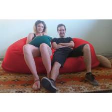 Relax babzsák kanapé szövet huzat, amíg a másikat mosod :) bútor