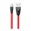 REMAX Alien micro USB kábel piros-fekete