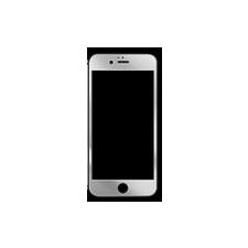 Remax Color ütésálló kijelző védőfólia törlőkendőkkel Apple iPhone 6 4.7, 6S 4.7-hez ezüst (0.3mm, 9H)* mobiltelefon előlap