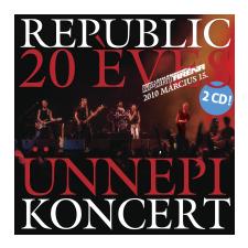 Republic 20 Éves Ünnepi Koncert (CD) egyéb zene