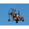 Repülés motoros siklóernyővel, kalandpark belépővel