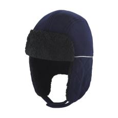 Result Uniszex téli sapka Result Ocean Trapper Hat L/XL, Sötétkék/Fekete
