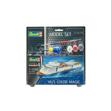 Revell Model Set M/S Color Magic 1:1200 hajó makett 65818 makett figura