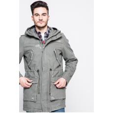 Review - Kapucnis kabát - meleg oliva