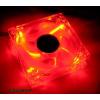Revoltec 120x120x25 Dark Red led RL027