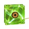 Revoltec 4xLED - 120x120x25mm, mély zöld (RL046)