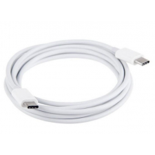 Rexdigital USB Type-C adatkábel USB 3.1 mindkét végén adat kábel töltő Type C 2 méter 2m Samsung LG HTC Huawei Sony Apple Macbook Thunderbolt 3 3A data cable audió/videó kellék, kábel és adapter