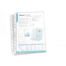 REXEL Genotherm, lefűzhető, A4, 50 mikron, víztiszta, R lefűző