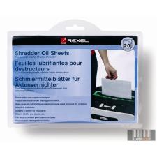 REXEL Olajozó lap iratmegsemmisítőhöz, A5, 20 db, REXEL irodai kellék