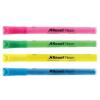 REXEL Táblamarker, 1-3 mm, REXEL, 4 különböző neon szín