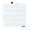 REXEL Üzenőtábla, mágneses, írható, fehér vonalas, 36x36 cm, REXEL