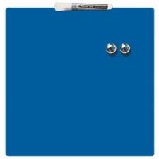 REXEL Üzenőtábla, mágneses, írható, kék, 36x36 cm, REXEL felírótábla