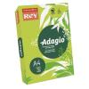 """REY Másolópapír, színes, A4, 80 g, REY """"Adagio"""", neon kiwi"""
