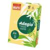 ReyAdagio Másolópapír A4/80gr 336182 színes közép VAJ/BUTTERCUP Rey Adagio