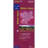 Rhone / Alpes térkép - IGN R14