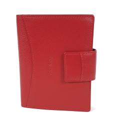 RIALTO piros, nyelves pénz-és irattárca RP6525Q-05