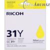 "Ricoh ""Ricoh GX 3300, 3350 toner [Y] GC31Y (eredeti, új)"""