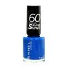 Rimmel London 60 Seconds Super Shine Nail Polish Női dekoratív kozmetikum 430 Coralicious Körömlakk 8ml