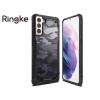 Ringke Samsung G996F Galaxy S21+ ütésálló hátlap - Ringke Fusion X - camo black