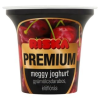 Riska Premium gyümölcsdarabos, élőflórás meggy joghurt 200 g