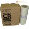 Riso graph TR/CR S-2500 [Master A4] (eredeti, új)