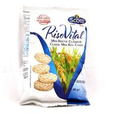 Riso Riso scotti puffasztott rizs natur (mini) 40 g alapvető élelmiszer