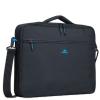 "RivaCase 8087 Regent Clamshell 16"" fekete laptop táska"