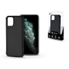 ROAR Apple iPhone 11 Pro Max szilikon hátlap - Roar Carbon Armor Ultra-Light Soft Case - fekete